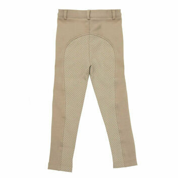 Harry Hall Jodhpurs Farnell Grip Seat Junior Beige