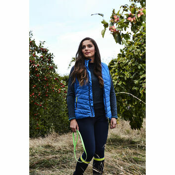 Harry Hall Gilet Sandford Padded  Ladies Blue