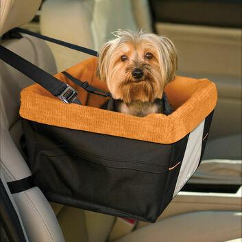 Kurgo Skybox Booster Seat Black/Orange