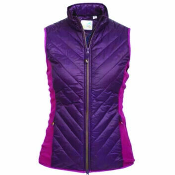 Tottie Gilet Maven Blackberry