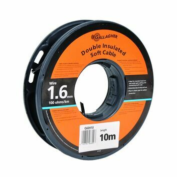 10m Gallagher Double Insulated Soft Lead Out Cable - 1.6mm