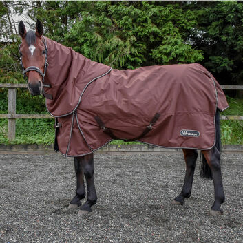 Whitaker Turnout Rug Combo Bournville Chocolate