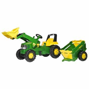 Rolly rollyJunior John Deere Ride-On Tractor - DAMAGED BOX SPECIAL
