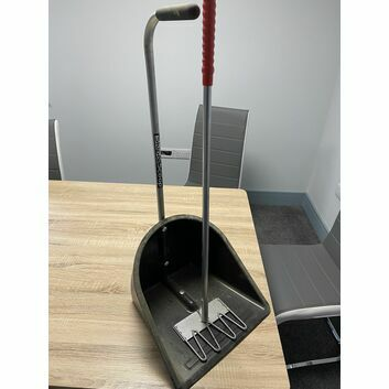 Fyna-lite Skip & Scoop Rake & Collector with Stubbs Rake - SHOP SOILED PRICED TO CLEAR!