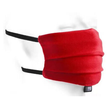 Cotton Face Mask Reusable Red