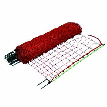 50m x 112cm Gallagher Double Spike Electric Poultry Netting