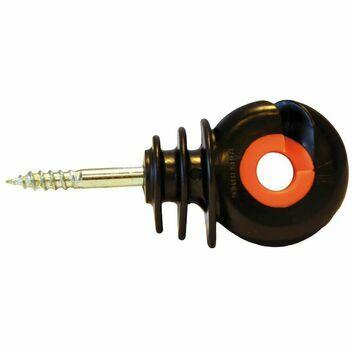 25 x Gallagher XDI Screw-In Ring Insulator