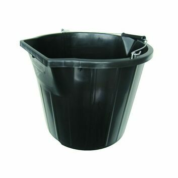 Stadium Heavy Duty Black Bucket - 3 Gallons