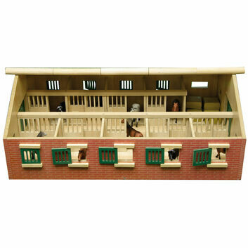 Kidsglobe Horse Stable with Storage Room 1:32