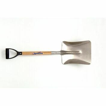 Fyna-lite Alloy Shovel - D Grip Ash Handle