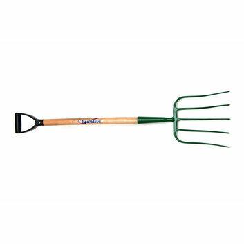 Fyna-lite Manure Fork - 5 Prong (D Grip & Ash Handle)