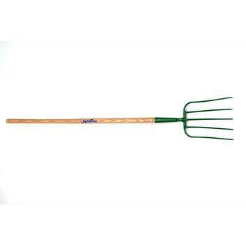 Fyna-lite Manure Fork - 5 Prong (Long Ash Handle)