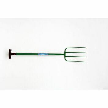 Fyna-lite Hi-Strength Manure Fork - 4 Prong (T Grip)