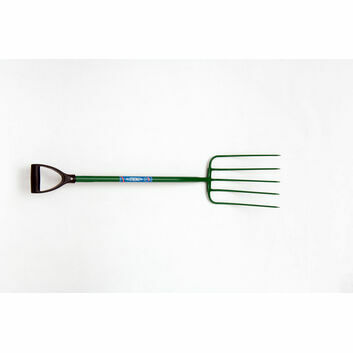 Fyna-lite Hi-Strength Manure Fork - 5 Prong (D Grip)