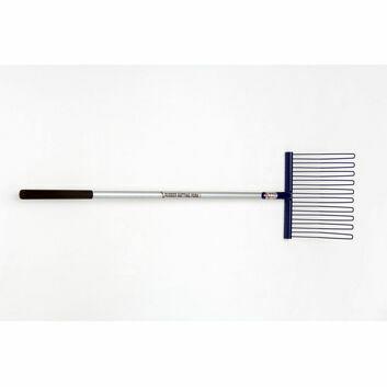 Fyna-lite Rubber Matting Fork - Long Hardwood Handle