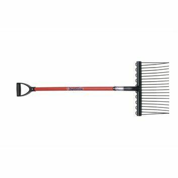 Fyna-lite Shavings Fork - 100cm Short (D Grip Handle)