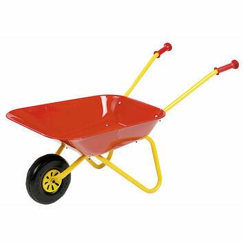 Rolly Red Metal Children's Wheelbarrow