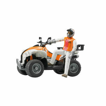 Bruder Quad Bike with Driver 1:16