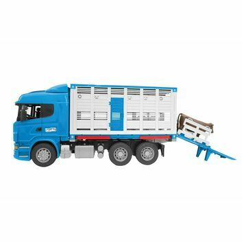 Bruder Cattle Transportation Truck Including 1 Cow 1:16