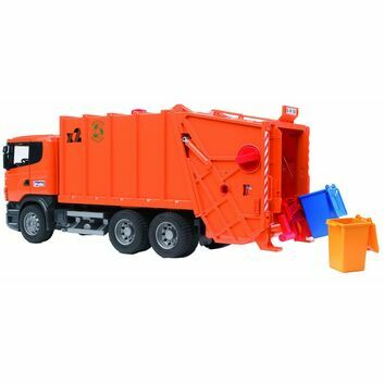 Bruder Scania R-Series Garbage Truck (Orange)  1:16