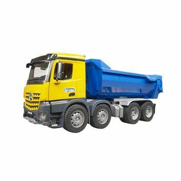 Bruder MB Arocs Halfpipe Dump Truck 1:16