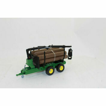 Siku Log Transporter Forestry Trailer 1:32