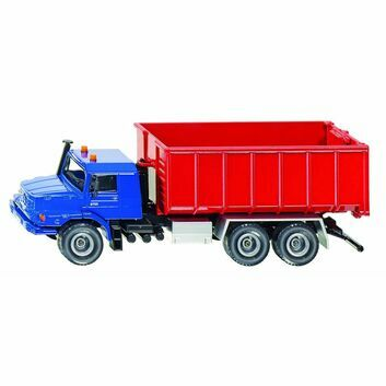 Siku Mercedes-Benz Zetros roll-off skip 1:50