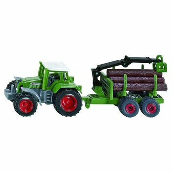 Siku Fendt with Forestry Trailer 1:87