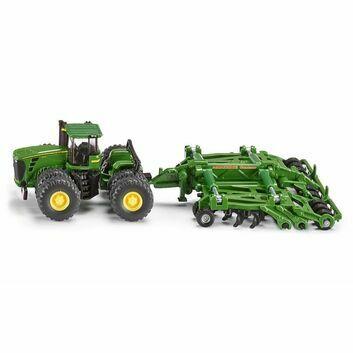 Siku John Deere 9630 Tractor with Amazone Centour Harrow 1:87