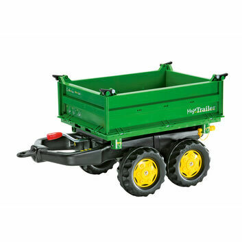 Rolly John Deere 3 Way Tipper Trailer For Ride Ons