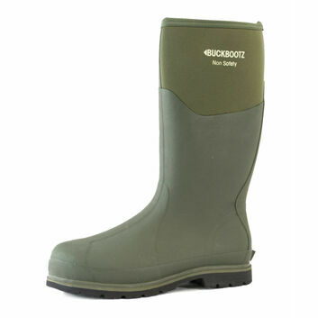 Buckler Buckbootz BBZ5020 Green Non-Safety Wellington Boots
