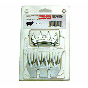 Heiniger Wide Farmer Pack (2 x Jet Cutters + 1 x Pro 5 Legend Comb)