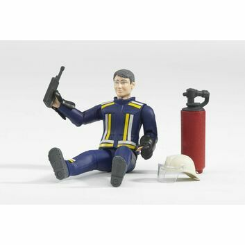Bruder Fireman with Accessories 1:16
