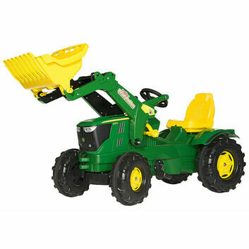 Rolly Farmtrac John Deere 6210R Ride-On Tractor + Loader