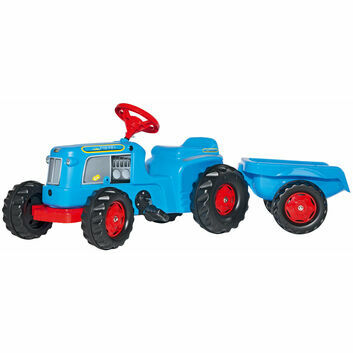 Rolly Kiddy Classic Trac Ride-On + rollyKid trailer