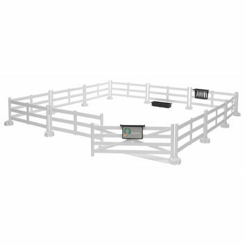 Bruder Horse Fence in White 1:16