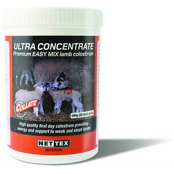 1Kg Nettex Collate Ultra Concentrate Premium Lamb Colostrum 1kg (40 Lamb Pack)