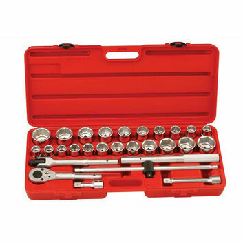 Genius Tools 28 Piece 3/4 Drive Socket Set
