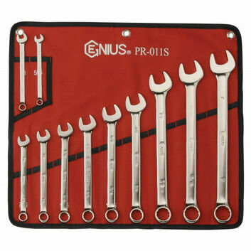 Genius Tools 11 Piece Imperial Combination Spanner Set