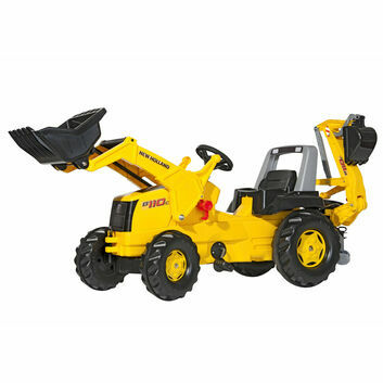 Rolly Junior New Holland Construction Ride-On + Loader
