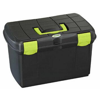 Kerbl Lambing Storage Box - Black & Fuchsia/Pistachio