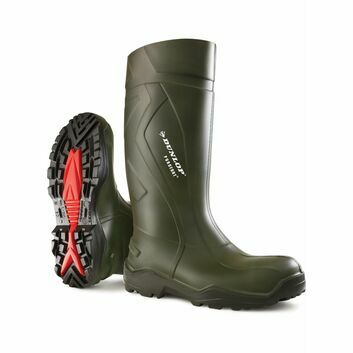 Dunlop Purofort Plus Wellington Boot Green