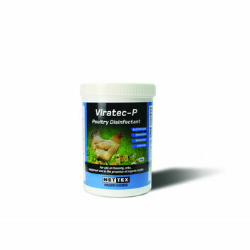 Nettex Viratec-P Poultry Disinfectant Concentrate Powder - 500g