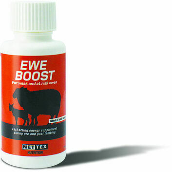 Nettex Ewe Boost Fast-Acting Energy Supplement - 100ml