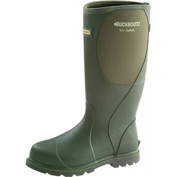 Buckler Buckbootz BBZ5060 Olive Green Non-Safety Wellington Boots