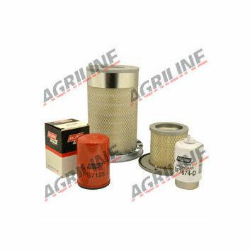 John Deere 6010, 6110, 6205, 6210, 6310, 6405, 6410, 6505 Engine Filter Service Kit