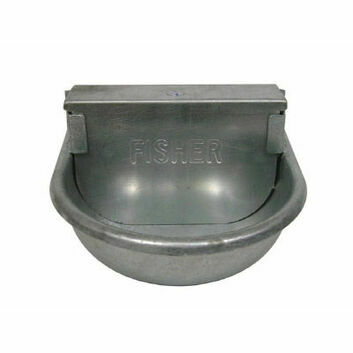 Fisher Alvin 102 Galvanised Livestock Drinker 2.5L