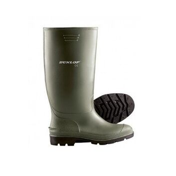 Dunlop Pricemaster Wellington Boot Green