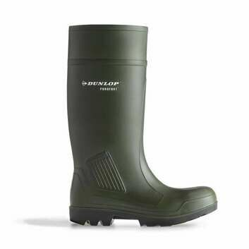 Dunlop Purofort Professional Green Full Safety S5 Wellington Boots Green