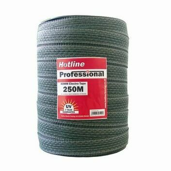 Hotline 40mm White Professional Tape - 250m